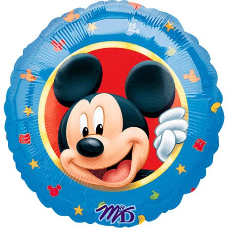"Party Destination Disney Mickey Mouse Clubhouse 18"" Foil Balloon"