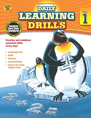 Daily Learning Drills, Grade 1 (Math Drill Express compare prices)