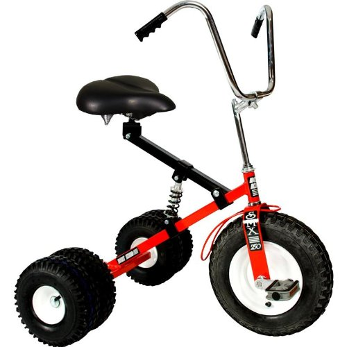 Dirt King Adult Dually Tricycle - Red