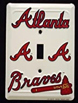 Atlanta Braves Light Switch Cover (single)