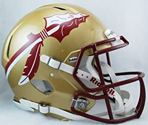 NCAA Riddell Florida State Seminoles (FSU) Speed Full-Size Authentic Helmet by Riddell