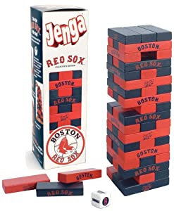 Jenga Boston Red Sox
