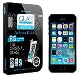 【並行輸入品】SPIGEN SGP iPhone5/5S/5C シュタインハイル GLAS.t スリム リアル スクリーン プロテクター(背面保護フィルム同梱)【SGP10112】