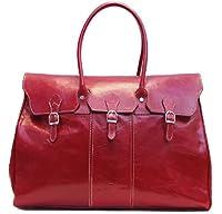 Floto Lugano Leather Duffle Bag from Floto