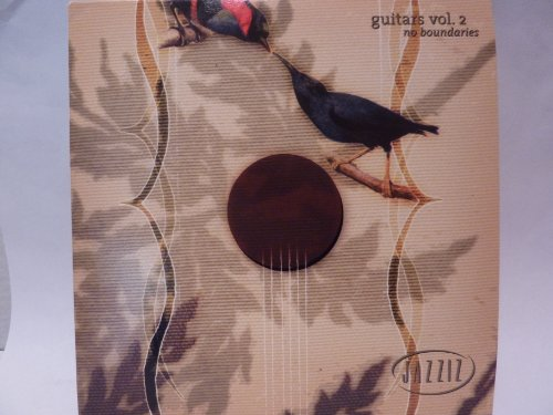 JAZZIZ GUITARS VOL 2 NO BOUNDARIES MARCH 2004 by RICHARD SMITH, PAT MARTINO, LARRY CARLTON, PAUL BROWN and KEN HATFIELD TRIO