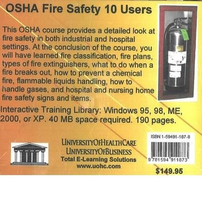 ({OSHA FIRE SAFETY, 10 USERS}) [{ By (author) Daniel Farb }] on [January, 2005]