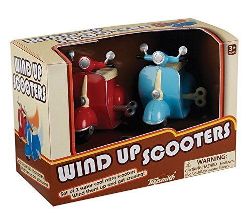 Wind-up Scooters Set of 2 - 1