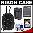 Nikon Coolpix All Weather Sport Digital Camera Case with EN-EL12 Battery + Charger + Kit for AW100, AW110, AW120, P340, S800c, S9500, S9700