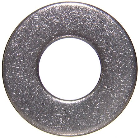1/4 Bolt Size, Stainless Steel Flat Washers (100 Per Package) front-576572