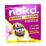 Nakd Rhubarb & Custard Multipack 4 Pack 140g