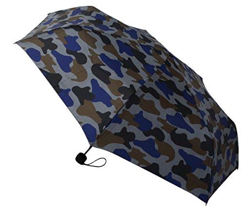 【晴雨兼用】 折りたたみ傘 収納袋入 カモフラージュ ミニ 58cm MSM-013
