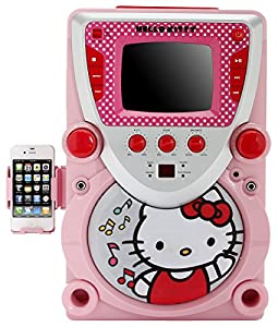 Amazon.com: Hello Kitty 68109 CD Karaoke System with ...