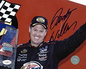 RUSTY WALLACE NASCAR SIGNED AUTHENTIC 8X10 PHOTO AUTOGRAPHED CERTIFICATE OF... by Press Pass Collectibles