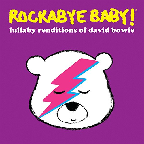 David Bowie Lullaby CD. Funny newborn baby gift. Instrumental lullaby renditions of 12 David Bowie songs.