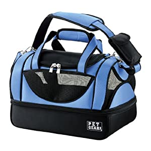 Pet Gear Aviator Bag for Cats and Small Dogs, Pet Carrier, Small, Caribbean Blue