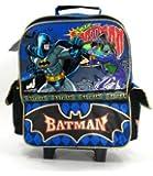 DC Comics - Batman Rolling Backpack - Kid Size - The Joker and Batman - Joker with hammer malet