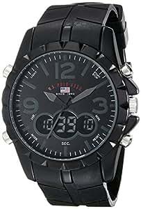 U.S. Polo Assn. Sport Men's US9058 Black Analog-Digital Watch