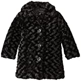 Calvin Klein Little Girls'  Faux Fur Coat by NYC Leather Factory Outlet