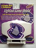 Game Boy Advance Lighted Game Shield- White