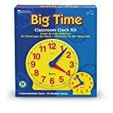 Learning Resources Clock Classroom Kit
