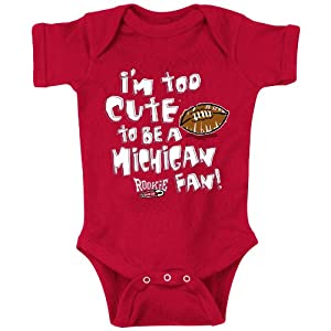 Amazon Com Ohio State Fans Too Cute To Be A Michigan Fan