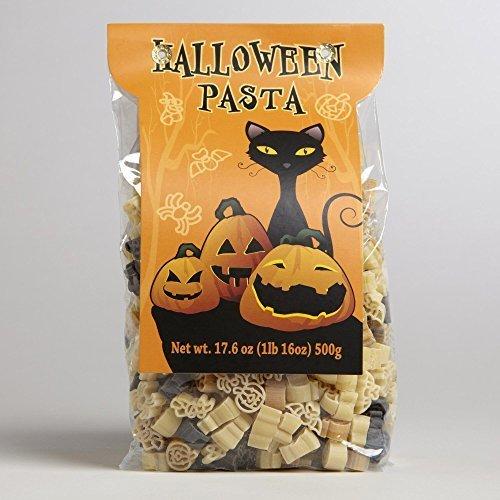 Halloween Pasta Shapes Pumpkins Spiders Bats 17.6 Oz (Halloween Pasta compare prices)