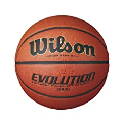Wilson Evolution Game Ball Basketball by Wilson