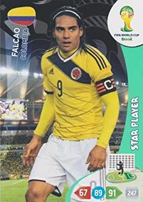 FIFA World Cup 2014 Brazil Adrenalyn XL Falcao Star Player