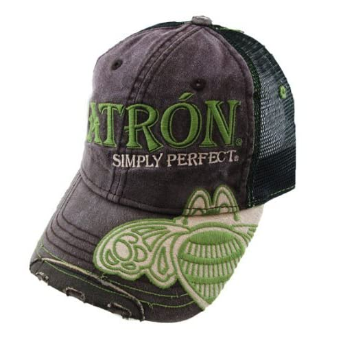 Patron Simply Perfect Tequila Trucker Hat/Cap at Amazon Women's