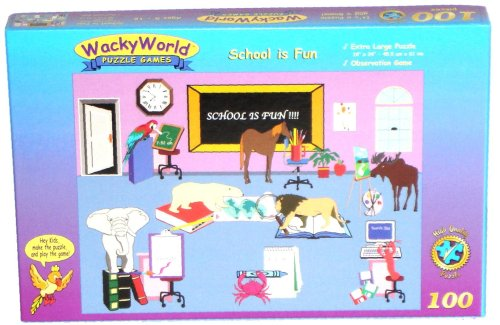 Cheap Game Development Group School is Fun 100-piece Jigsaw Puzzle Game (B000067NOI)