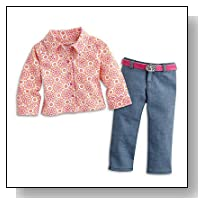 American Girl Saige - Saige's Parade Outfit - American Girl of 2013