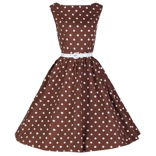 Most Wished 10 Polka Dot Dresses For Women