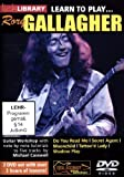 Lick Library: Learn To Play Rory Gallagher [DVD]