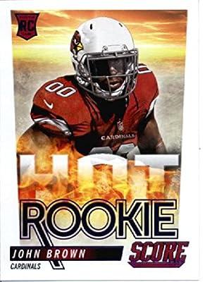 2014 Score NFL Hot Rookies Football Card # 47 John Brown - Arizona Cardinals