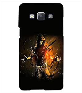 PrintDhaba Dancing Boy D-2251 Back Case Cover for SAMSUNG GALAXY A5 (Multi-Coloured)