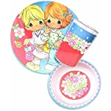 Precious Moments 3-Piece Dinnerware Set