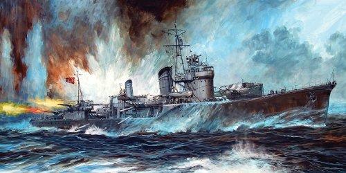 1/700 日本海軍 朝潮型駆逐艦 霰 新装備+エッチングパーツ付 (SPW15)