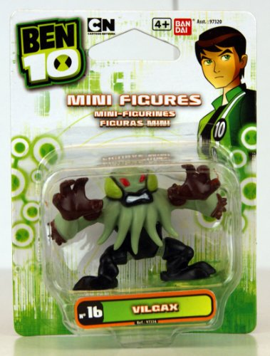 "Ben 10 - Mini Figure - No. 16 Vilgax - 1.5"" Mini Figure - 97336"