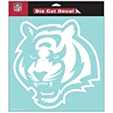 Cincinnati Bengals NFL Vinyl Die Cut Window Decal Auto Car Logo White 8x8 Sticker Football Licensed Team Logo at Amazon.com