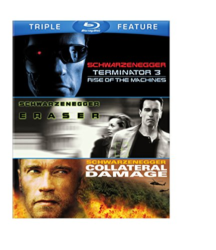 Arnold Schwarzenegger Triple Feature (Terminator 3: Rise of the Machines / Eraser / Collateral Damage) [Blu-ray]