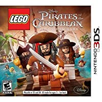 Disney Interactive Lego Pirates Of The Caribbean Action Adventure Video Game Supports 3DS by Disney Interactive