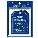 Amazon.co.jpブルーラベル フレグランスカード オーシャンブルー(エアフレッシュナー 芳香剤 海の爽快さを思い出させる香り)