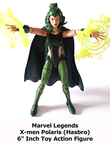 "Review: Marvel Legends X-men Polaris (Hasbro) 6"" Inch Toy Action Figure"