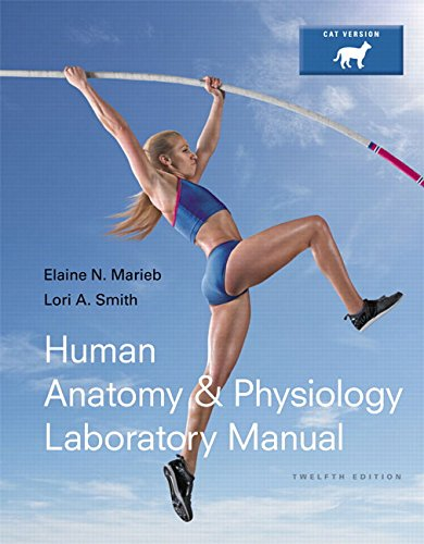 Human Anatomy & Physiology Laboratory Manual, Cat Version Plus MasteringA&P with eText -- Access Card Package (12th Edition) (Marieb & Hoehn Human Anatomy & Physiology Lab Manuals)