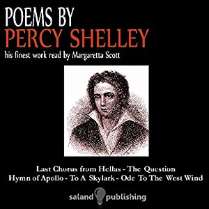 Poems by Percy Shelley Audiobook