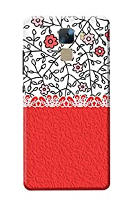 Huawei Honor 7 Cover, Premium Quality Designer Printed 3D Lightweight Slim Matte Finish Hard Case Back Cover for Huawei Honor 7 + Free Mobile Viewing Stand