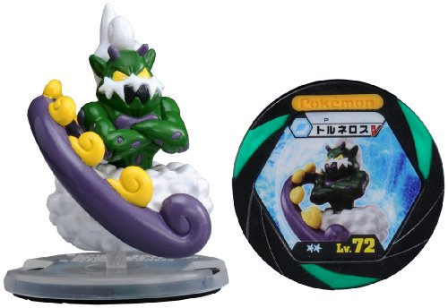Takaratomy Limited Edition Monster Collection B&W Pokemon Figure with Battle Disc M-043 - Tornelos/Tornadus