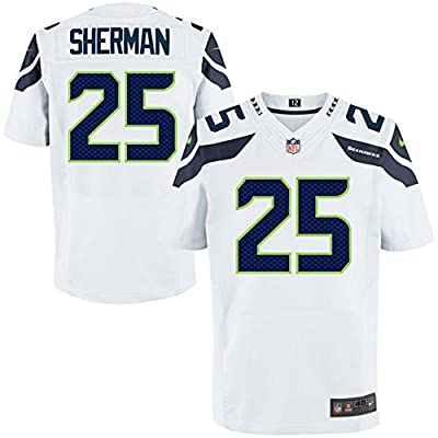 #25 Richard Sherman Youth Stitched NFL Jerseys American Football Team Sweatshirts