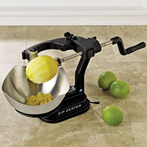 Zip Zester Ultimate Kitchen Zester and Cocktail Garnisher with Two Blades