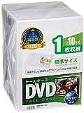 サンワサプライ DVDトールケース 10枚収納 クリア DVD-TN1-10C ランキングお取り寄せ